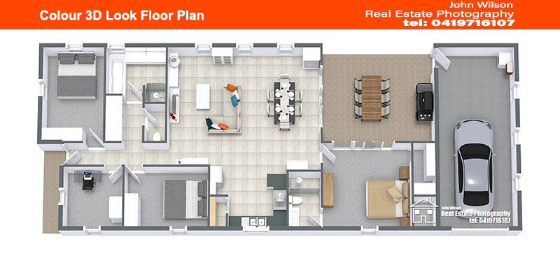 Real estate agent Hervey Bay floor plan