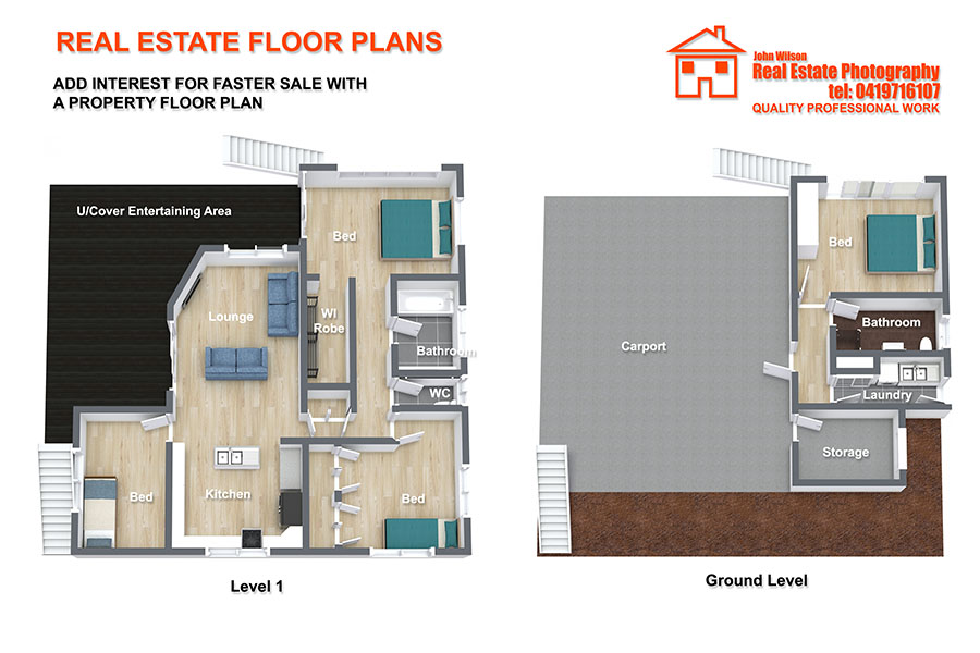 Bundaberg real estate floor plan service
