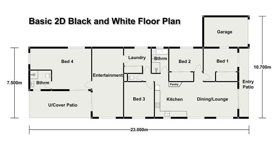 Floor Plan Bundaberg