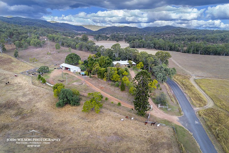 aerial photography Maranoa QLD