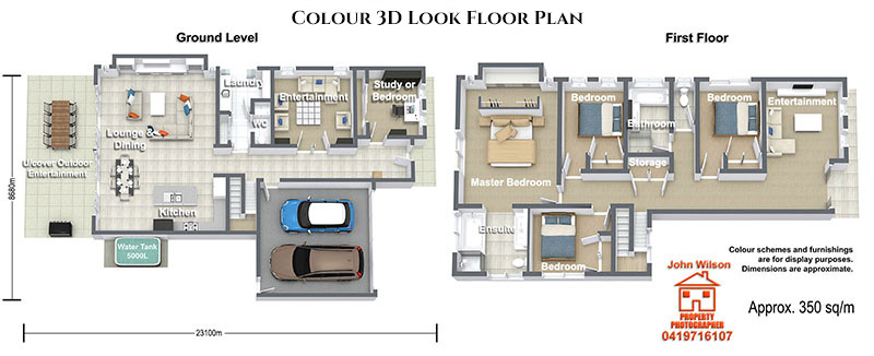 Maroochydore real estate floor plan