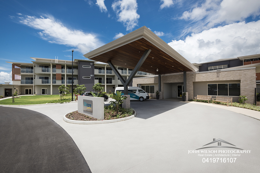 Ozcare Aged Care Facility Hervey Bay - Commercial Real Estate Photography