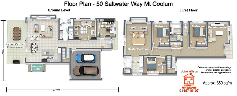 50 Saltwater Way Mt Coolum Floor Plan