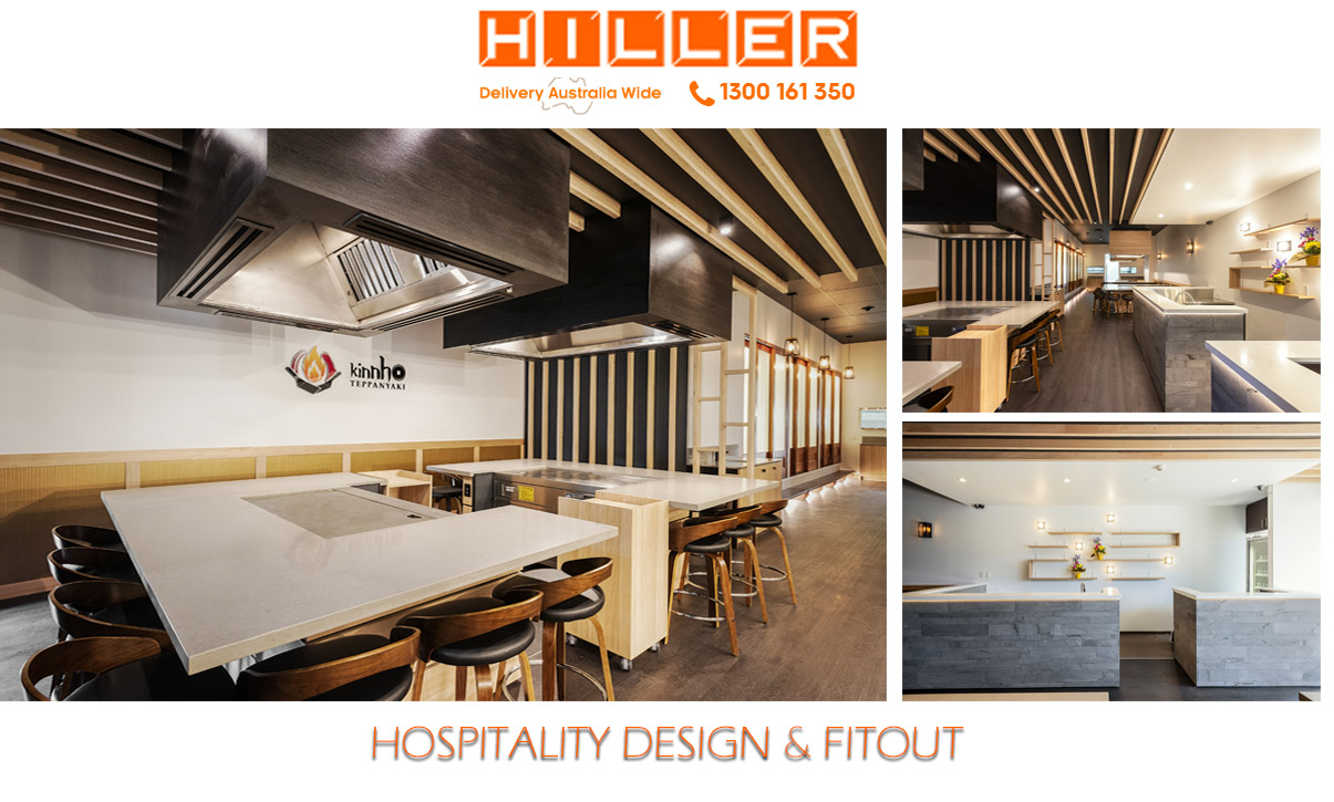 Mooloolaba Kinnho restaurant Fit Out - Hiller Hospitality Design