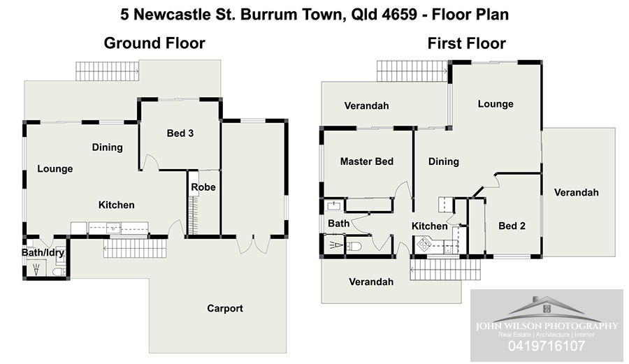 5 Newcastle St Floor Plan
