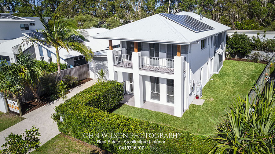 aerial real estate photography Maroochydore