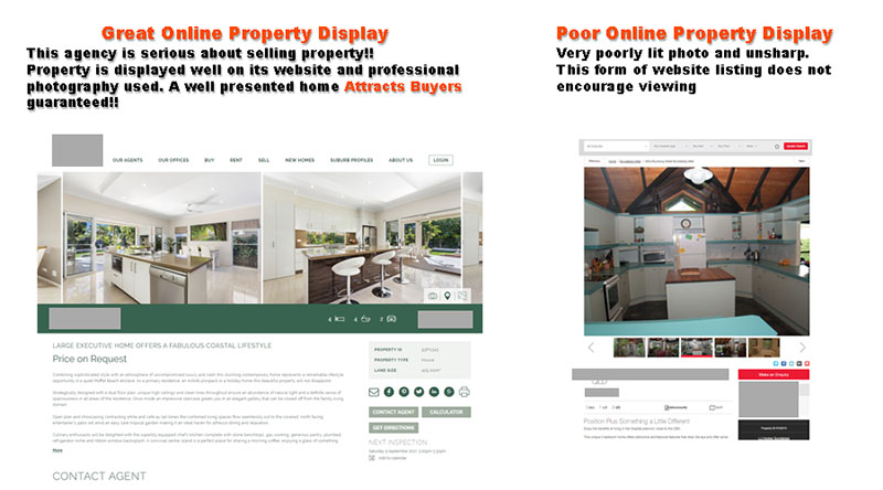 Noosa real estate photography comparison