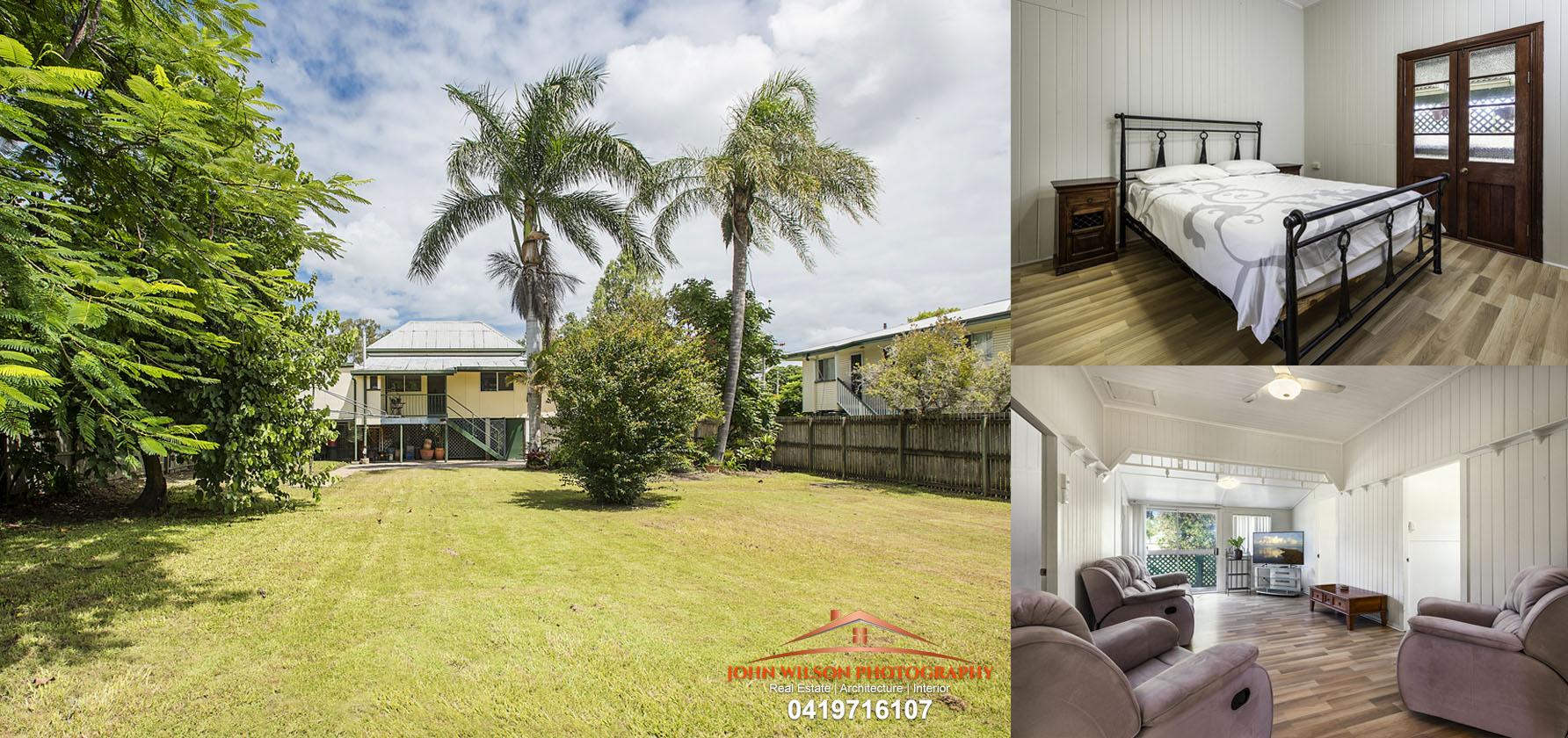 4 Puller St, Granville, 4650 For Sale - Queenslander Style Family Home