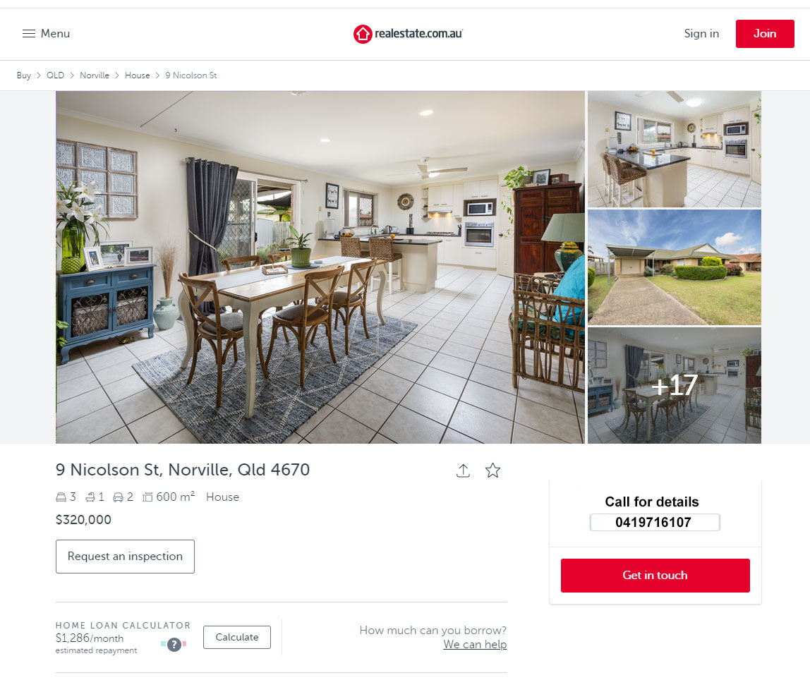 9 Nicolson St, Norville, Qld 4670 House for sale Bundaberg