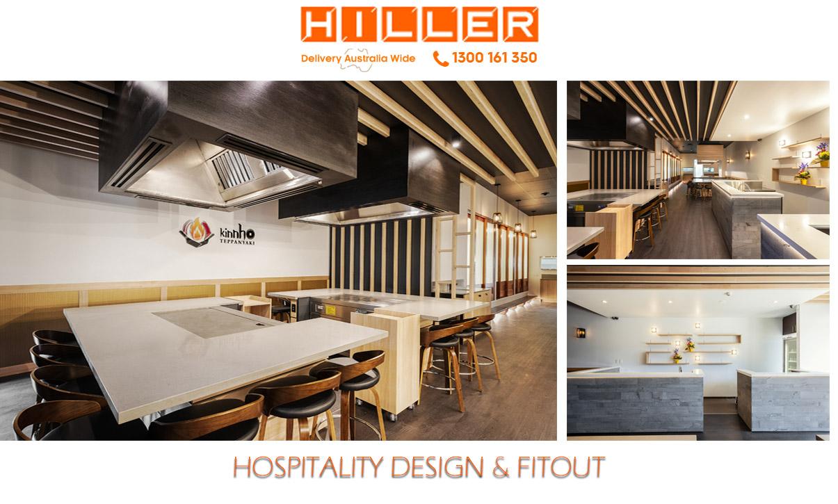 Mooloolaba Kinnho restaurant Fit Out - Hiller Hospitality Design