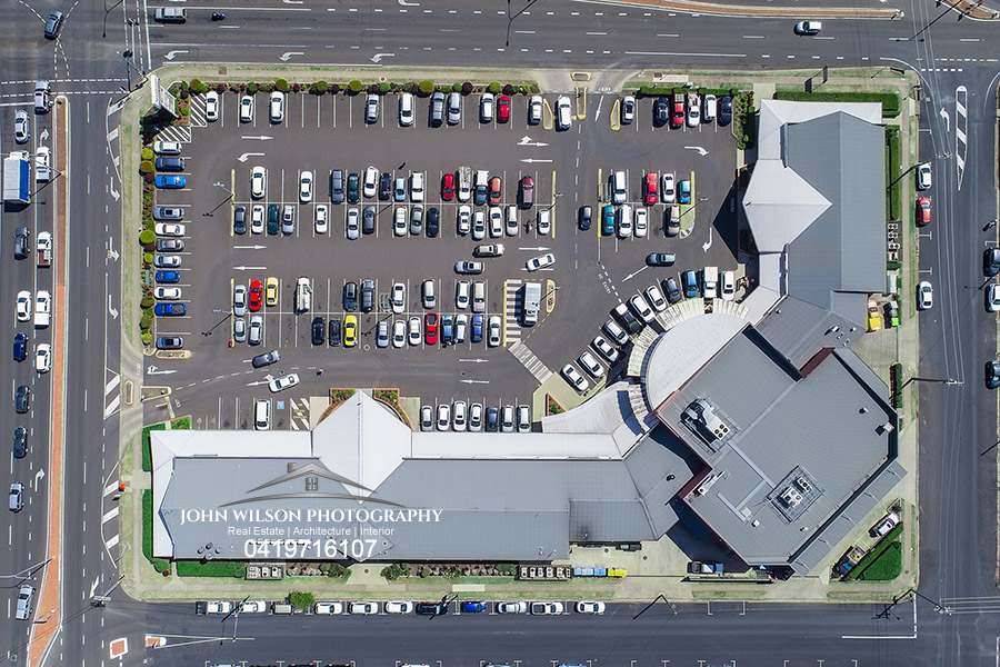Rockhampton Aerial photography overhead view