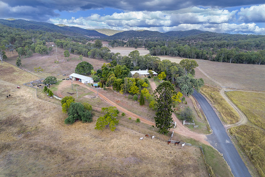 Rural property aerial photography Rockhampton